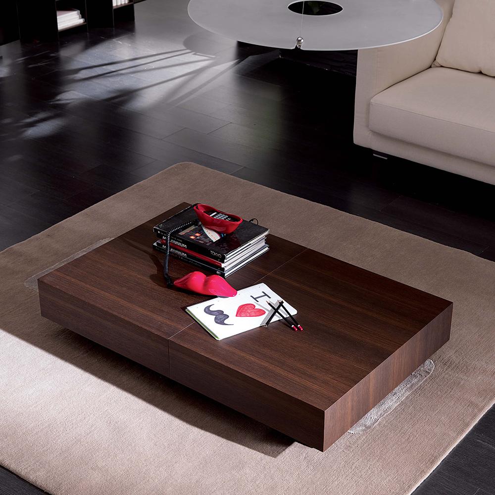 multifunktionstisch box legno von ozzio italia die wohn galerie. Black Bedroom Furniture Sets. Home Design Ideas
