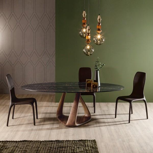 runder glastisch esstisch latest berckend glastisch esstisch schwarz ideen with runder esstisch. Black Bedroom Furniture Sets. Home Design Ideas