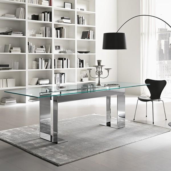 design glas esstische jetzt shoppen die wohn galerie. Black Bedroom Furniture Sets. Home Design Ideas