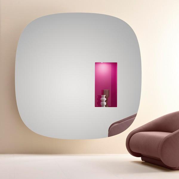 Design Spiegelobjekt APERTURE von Karim Rashid
