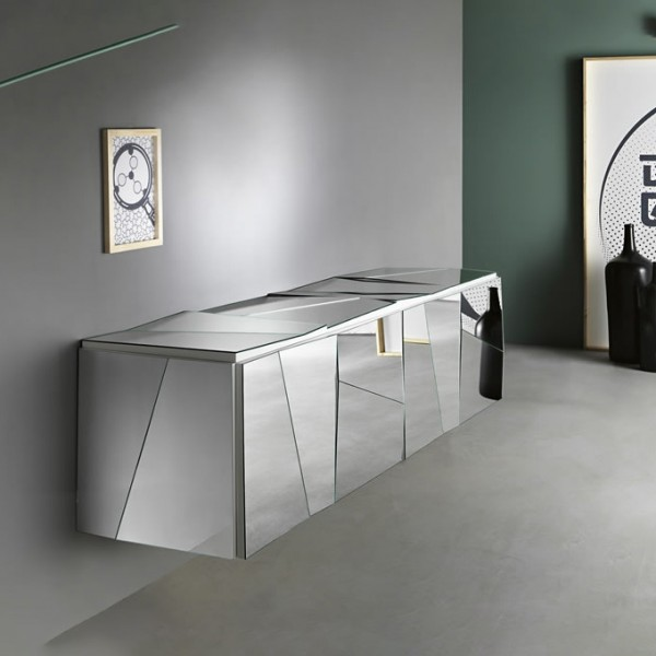 Design Sideboard PSICHE verspiegelt
