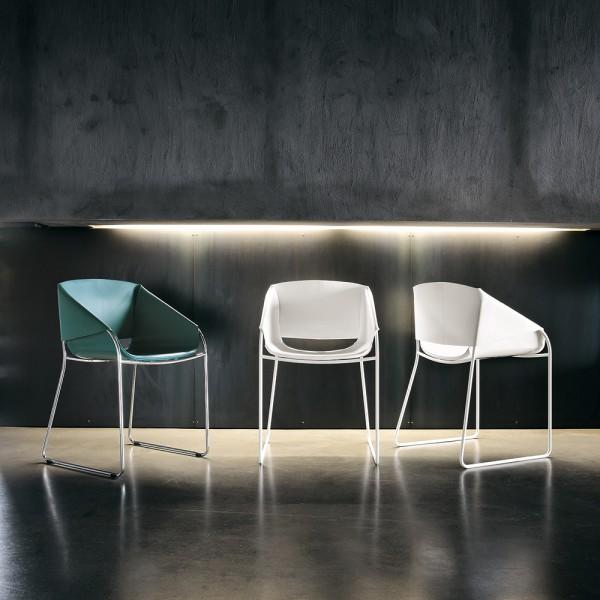 Lederst hle st hle wohnideen trends die wohn galerie designerm bel lifestyle aus italien - Lederstuhl design ...