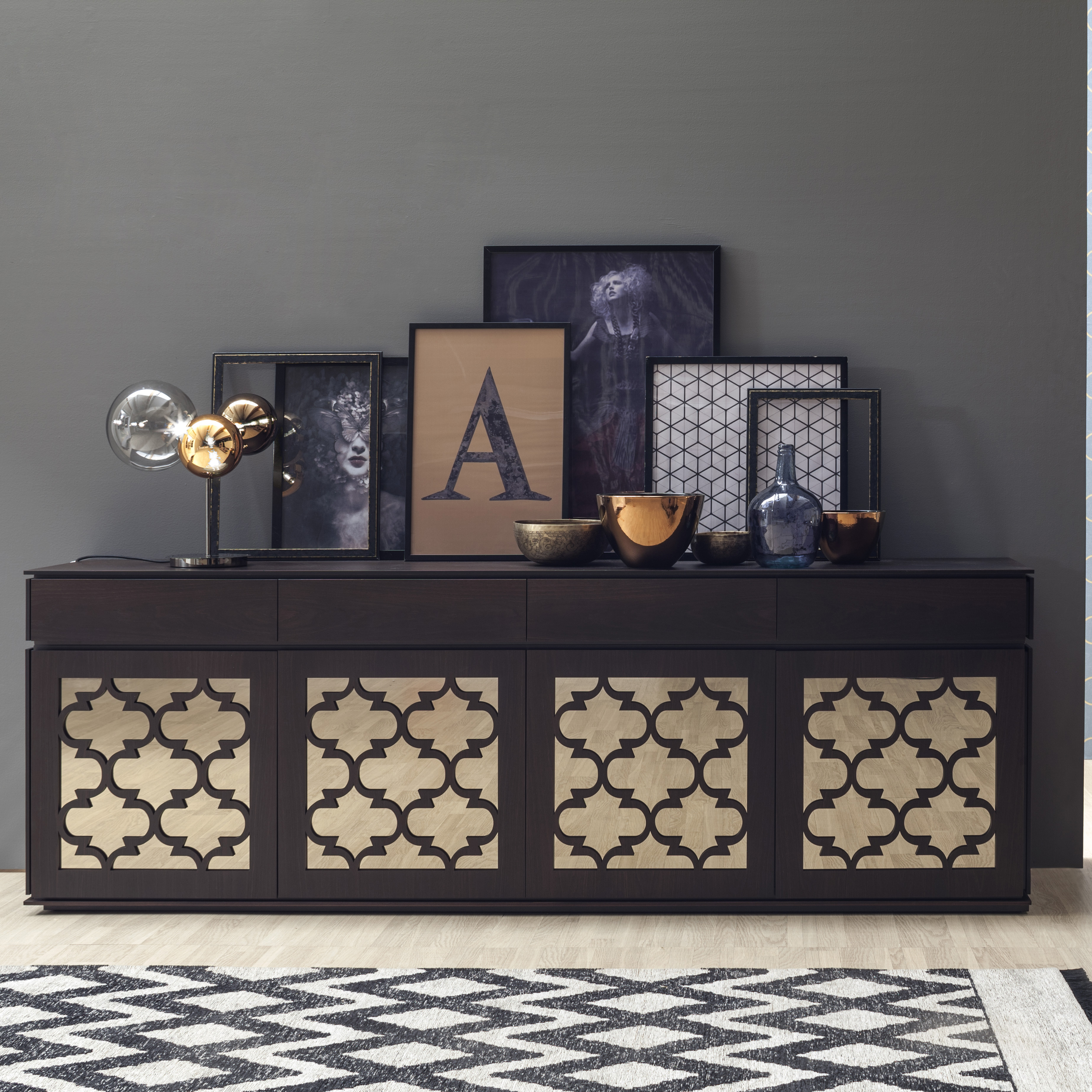 design sideboard marrakesh von tonin casa die wohn galerie. Black Bedroom Furniture Sets. Home Design Ideas