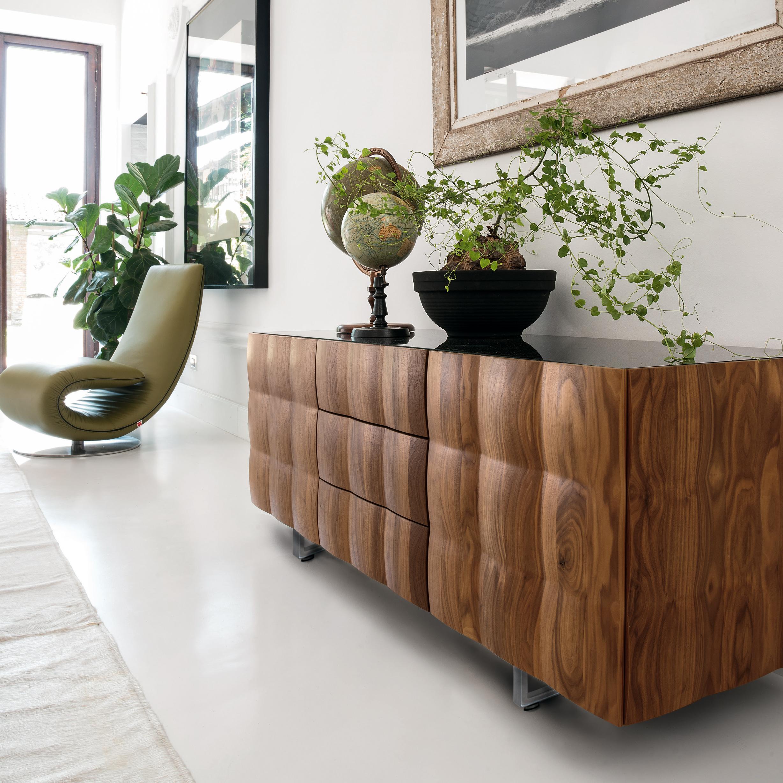 design sideboard venice von tonin casa die wohn galerie. Black Bedroom Furniture Sets. Home Design Ideas