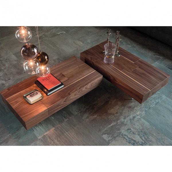 Design Holz Couchtisch LINGOTTO