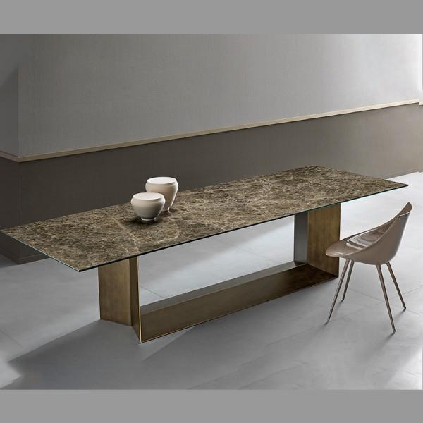 Design Keramiktisch T5 von Tonellidesign