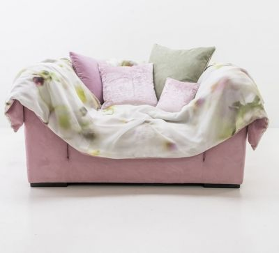 Lovechair - Design Sofa SOLID WAVE -rose
