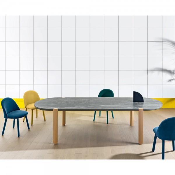 Design Keramiktisch OVO von Miniforms