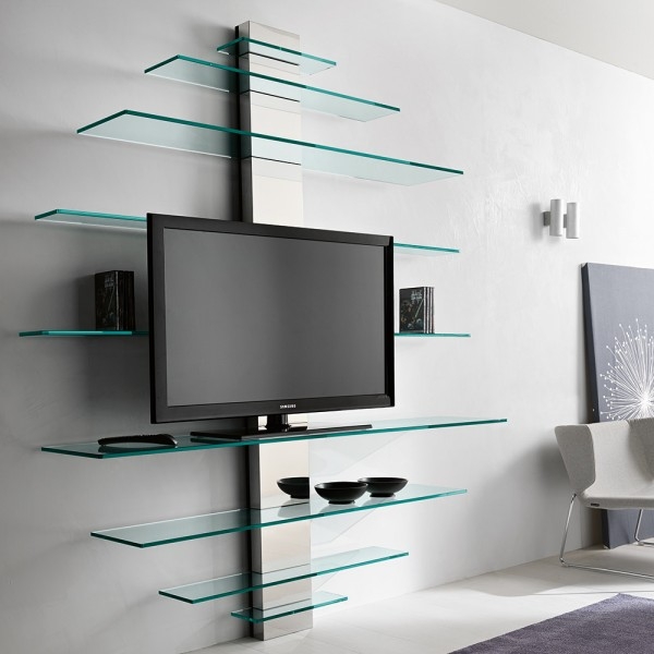 Glasregal / TV-Rack MONDOVISIONE