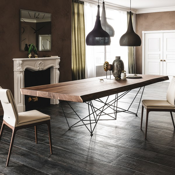 Design Esstisch GORDON DEEP WOOD