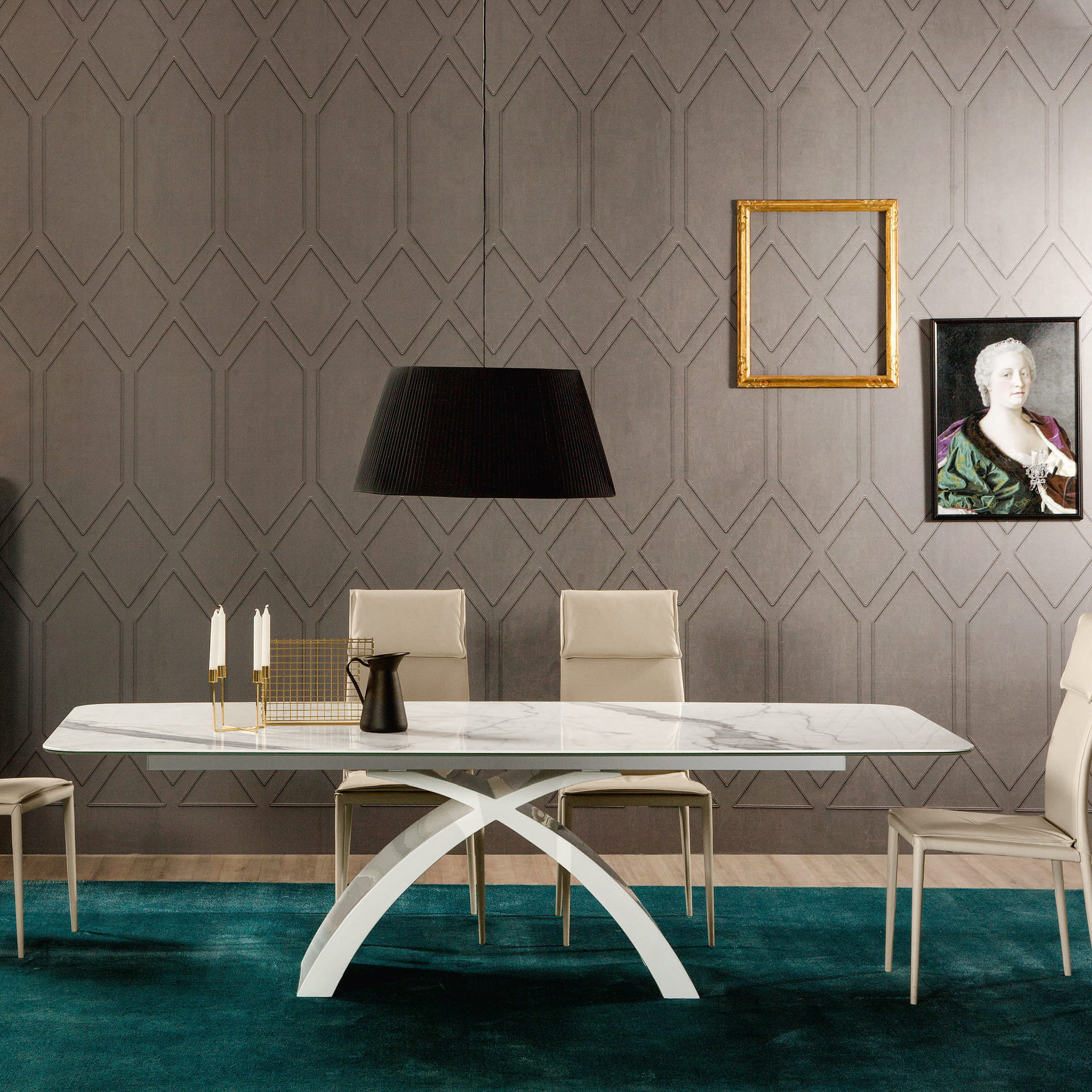 Esstisch Urbino ~ Design Keramik Esstisch TOKYO von Tonin Casa  DieWohnGalerie