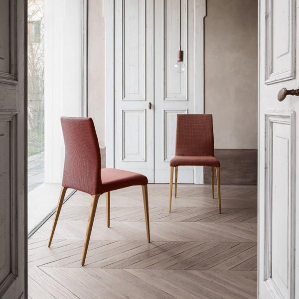 Esszimmerstuhl ARAGONA-Stoff-02 von Tonin Casa