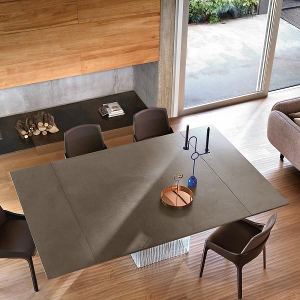 Design Glastisch RIME von FIAM Italia