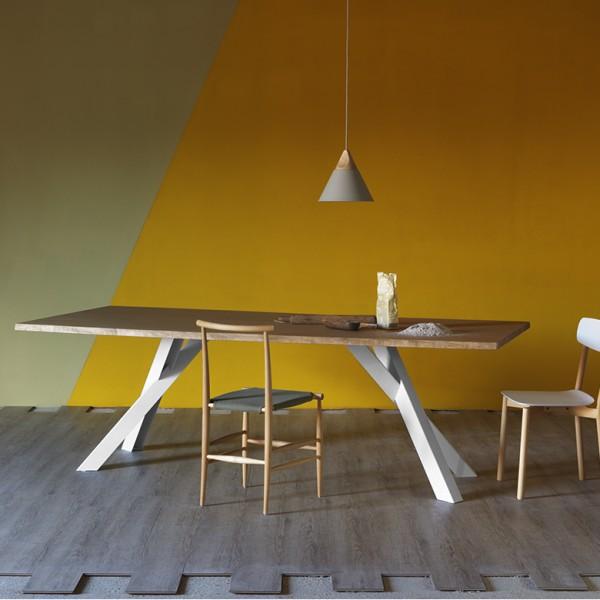 Design Holztisch GUSTAVE