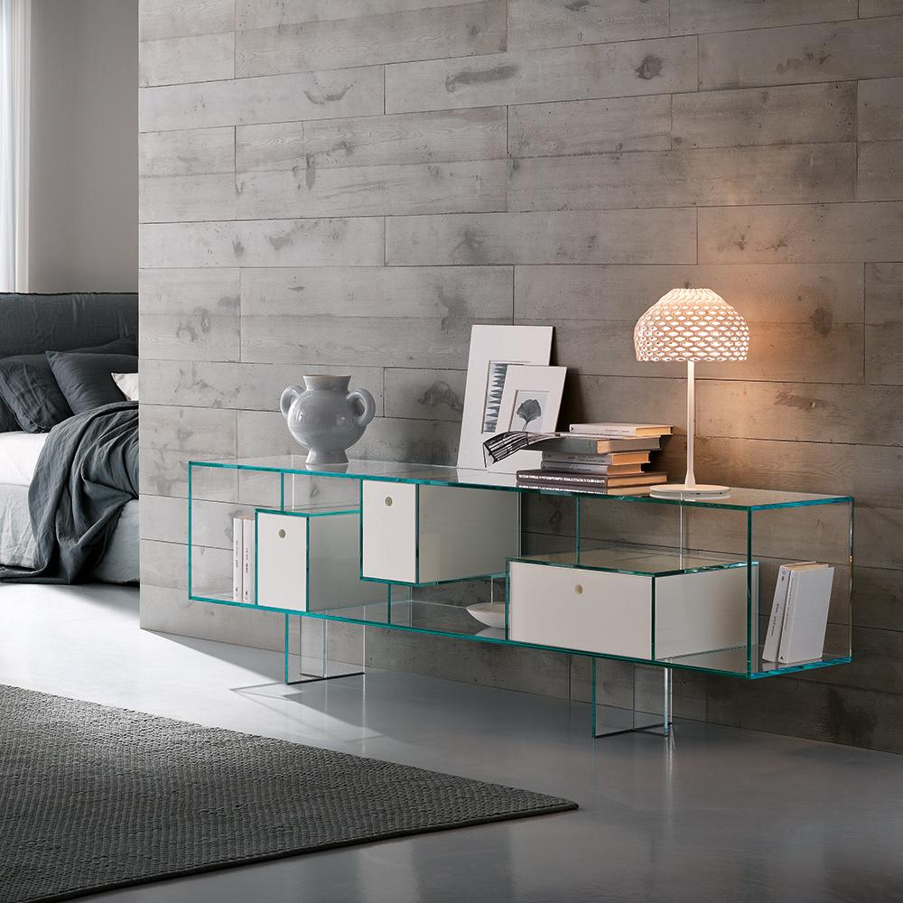 sideboard liber m von tonellidesign die wohn galerie. Black Bedroom Furniture Sets. Home Design Ideas
