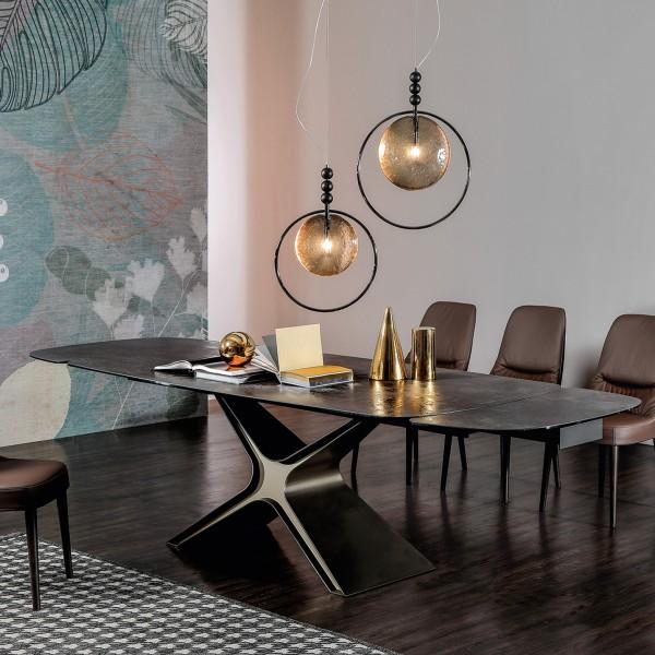 Design Keramiktisch CALLIOPE ausziehbar