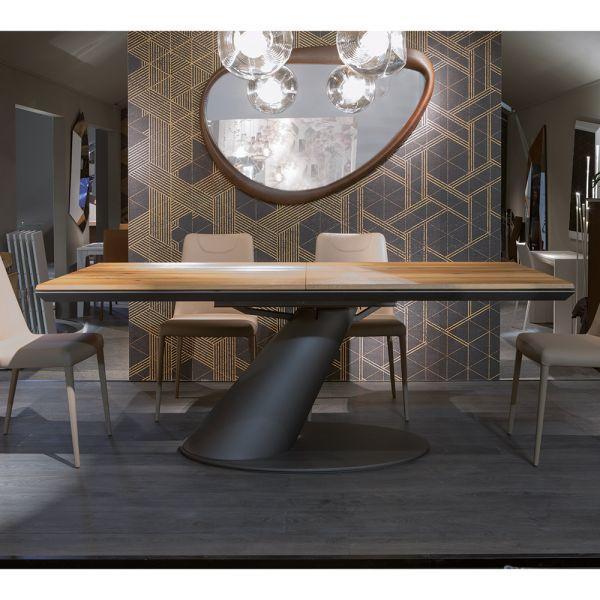 Esstich Thor aus Holz ausziehbar 90x170cm