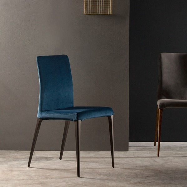 Design Stuhl ARAGONA Samt von TONIN CASA