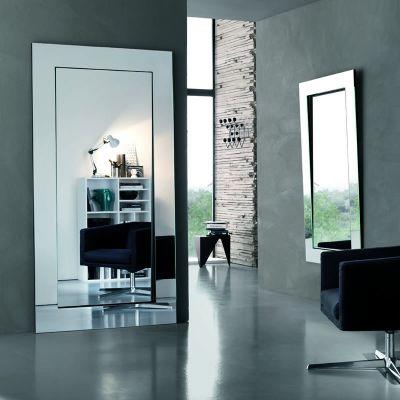 Design Spiegel GERUNDIO -eckig
