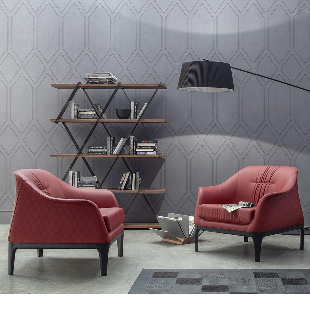 armlehnsessel tiffany von tonin casa die wohn galerie. Black Bedroom Furniture Sets. Home Design Ideas